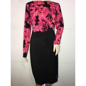 Lauren Ralph Lauren Floral Formal Dress